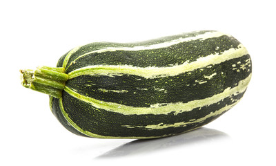 Fresh marrow. Isolated on white