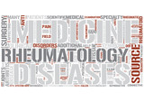 Rheumatology Word Cloud Concept