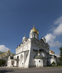 Archangel Cathedral of the Moscow Kremlin.