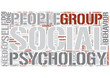 Social psychology Word Cloud Concept