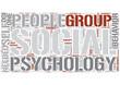 Social psychology Word Cloud Concept