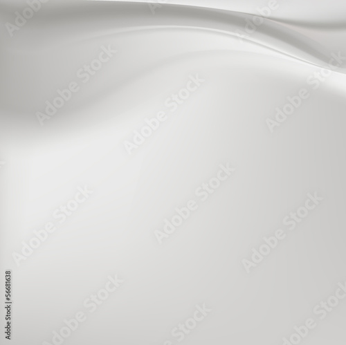 Grey silk background with soft folds