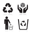 Recycling arrow ecology