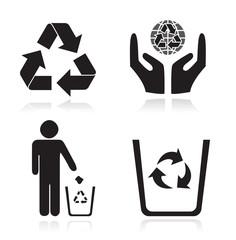Recycling arrow ecology