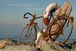vélo rouillé par l'air marin