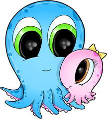 Octopus Vector Illustration Art