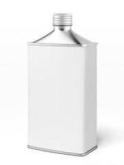 retro metallic fuel container