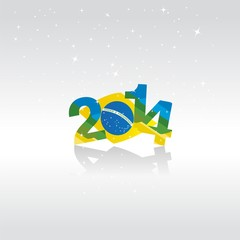 Happy New Year in Brazil vector