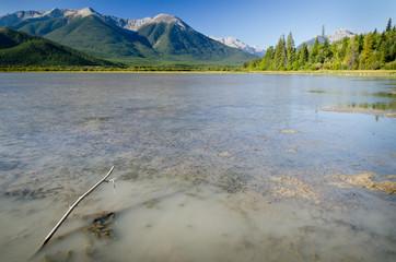 Vermilion Lakes - Banff National Park - Alberta - Canada