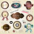 Bakery Labels Set - Vector Illustration