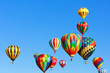 colorful hot air balloons - 56687688