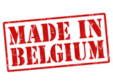 Made in Belgium stamp