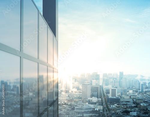 Fotobehang Stad gebouw modern city