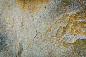 Background texture of and old cracking wall