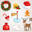 Christmas icons set - 2