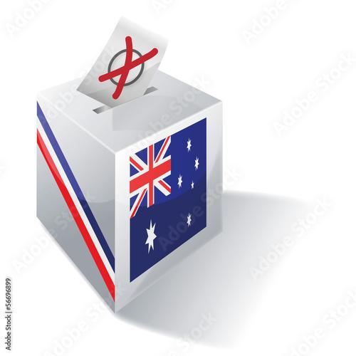 Wahlbox Australien