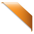 Orange RIBBON (band website button icon label)