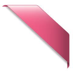 Ruban Publicitaire ROSE (tampon bannière banderole panneau)
