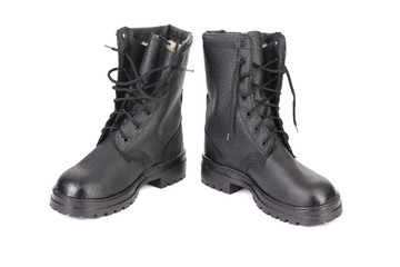 Pair of working boots.
