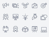 Marketing icon set - 56697856