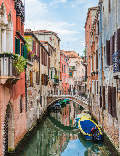 Canal in Venice, Italy - 56699426