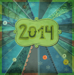 2014, New Year Poster