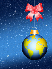 World Christmas ball