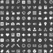 Internet Website Shop - White Icons
