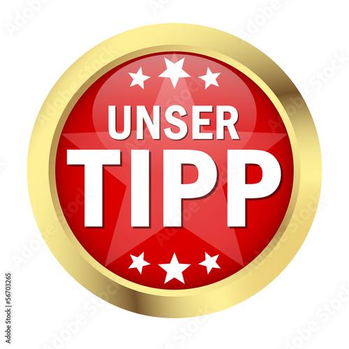 """Button """" UNSER TIPP """""""
