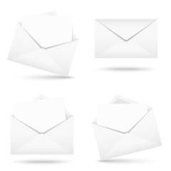 Sammlung - Briefumschlag mit Zettel