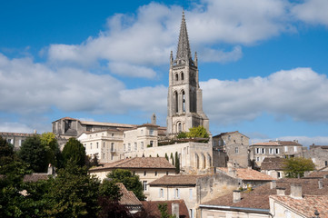 Saint-Emilion, a UNESCO World Heritage Site, France