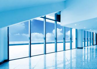 Large windows office