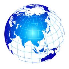 地球 地球儀 日本 世界