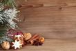 Zimtsterne mit Weihnachtsgewürzen Querformat