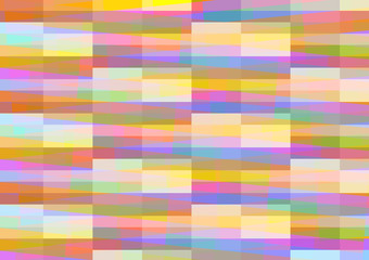 Abstract geometric background with pale colorful tiles
