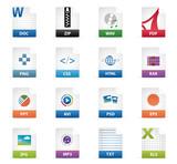 Filetyp Icons