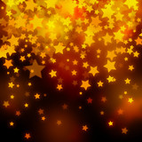 stars Christmas festive abstract background