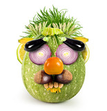 Fruits and vegetables face