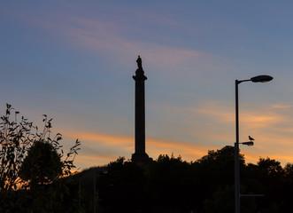 ELGIN - THE DUKE OF GORDON AT SUNSET