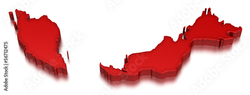 Malaysia (clipping path included)
