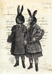 Les enfants lapin