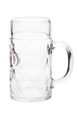 Grosser 1 Liter Bierhumpen isoliert