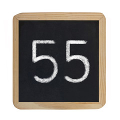 the number 55