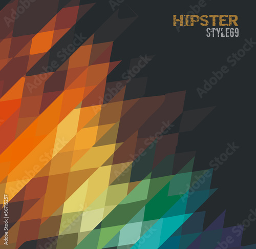 Abstract grunge background for your hipster cover projects.