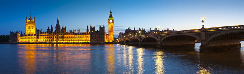 Big Ben, Westminster, Houses of Parliament, London.