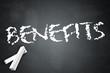 "Blackboard ""Benefits"""