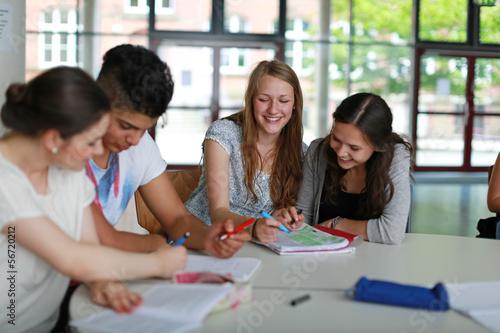 Schüler beim Lernen - 56720212