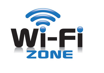 Wi-Fi ZONE icon logo