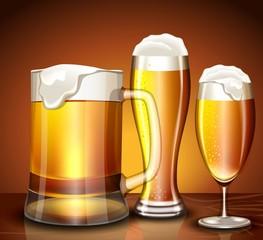 Набор бокалов для пива
