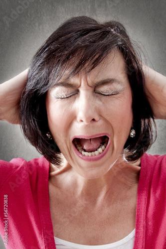 Migränepatientin